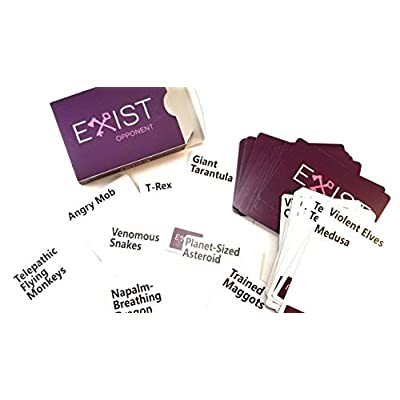 EXIST The Hilarious Party Card Game That's Trying to Kill You!: Toys & Games