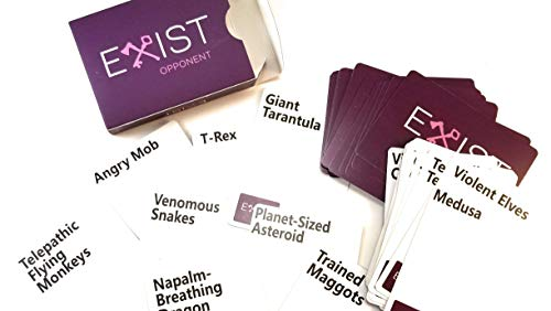 EXIST The Hilarious Party Card Game That's Trying to Kill You!