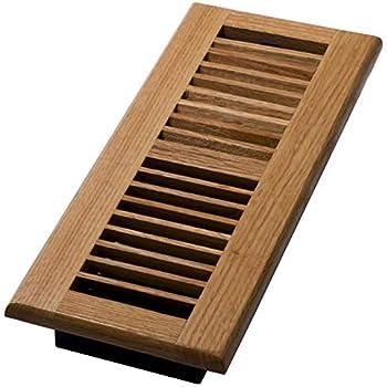 Decor Grates WL412-N Floor Register, 4-Inch by 12-Inch, Natural Oak
