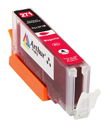 6 Pack Arthur Imaging Compatible Ink Cartridge Replacement for 270XL 271XL (1 Large Black, 1 Small Black, 1 Cyan, 1 Yellow, 1 Magenta, 1 Gray, 6-Pack) Photo #2