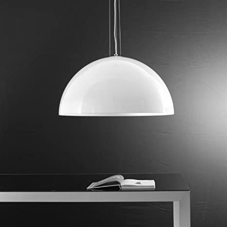 Lampadario a Sospensione Moderno Yurta 1 luce di diametro 50 cm in ...