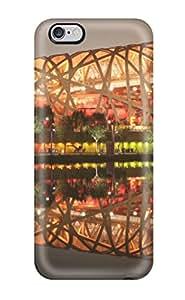 Oscar M. Gilbert's Shop 7392699K93358821 Case Cover Skin For Iphone 6 Plus (bird's Nest Stadium Beijing China)
