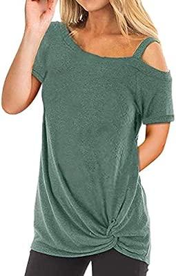 Camisetas Mujer Manga Larga Sexy Ronamick Verano Blusa Blanca Niña Tops Mujer Deporte Verano Camisa Cuadros Mujer (Verde,M): Amazon.es: Iluminación