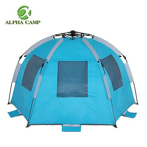 new concept 439ba 472fe ALPHA CAMP Easy Setup Beach Tent Instant Sun Shelter ...