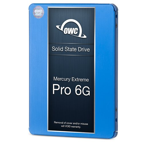 OWC 480GB SSD Upgrade Bundle For 2011 iMacs, OWC 480GB Mercury Extreme Pro 6G SSD, AdaptaDrive 2.5'' to 3.5'' Drive Converter Bracket, In-line Digital Thermal Sensor Cable, Installation tools