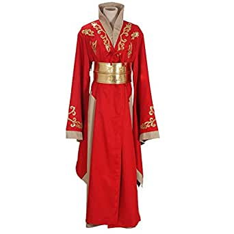Cosplaymart Costume Queen Cersei Lannister Red Luxury Dress Game of Thrones Cosplay Costume (2X-Large)