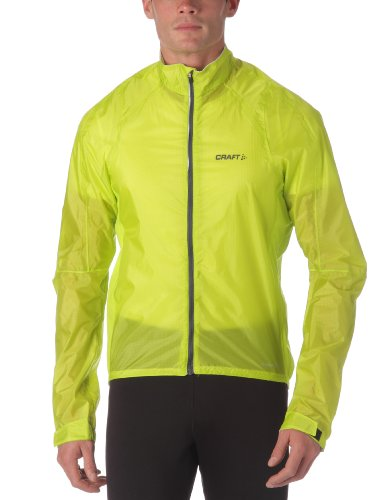 Craft Performance Bike Men's Rain Jacket Yellow amino Size:S ...