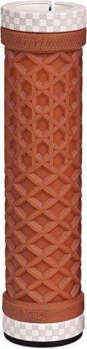 ODI Vans (No Flange) Lock-On Grips - 130mm - Ltd Gum, Color: Brown D3OVNGR-W by Odi