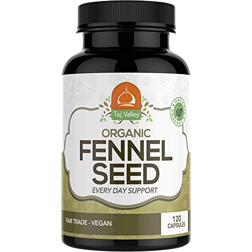 Organic Fennel Seed Digestive Supplement product image