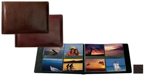 Raika RO 178 MOCHA 4in. x 6in. Album with 8 Photos - Mocha by Raika®