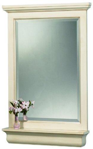 "Cottage Mirror with Optional Shelf Size: 24"""