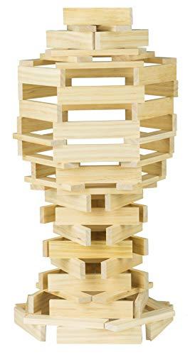 Glow2b mattoncini di legno – costruzioni per bambini