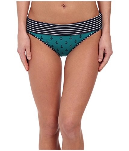 Tommy Bahama Anchors Away Reversible Hipster Bikini Bottoms Azurite/Mare Size XS
