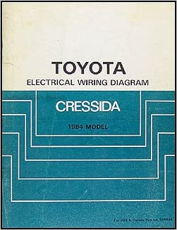 1984 Toyota Cressida Wiring Diagram Manual Original Toyota Amazon Com Books