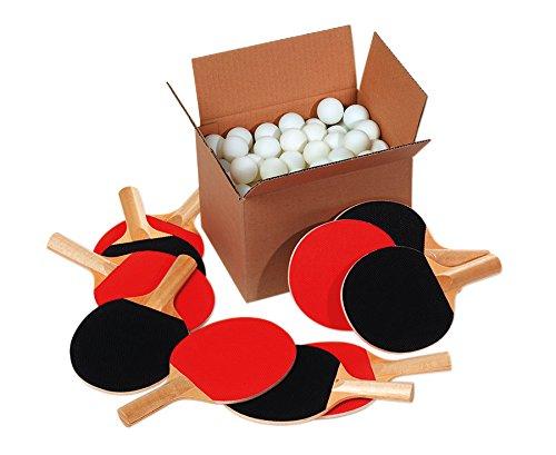 Tischtennis-Gruppenset - Schule Tischtennistraining Training Tischtennisbälle Schläger Bälle Tischtennisschläger Sport Verein