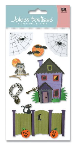 Jolee's Boutique Lock And Key Dimensional Stickers -