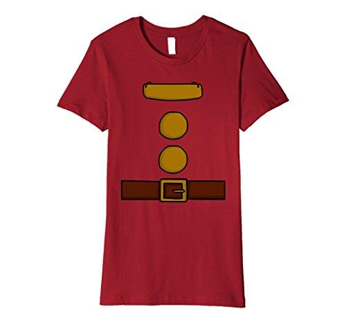 Womens Dwarf Halloween Group Costume Idea T-Shirt with name plaque Medium (Happy Dwarf Halloween Costume)