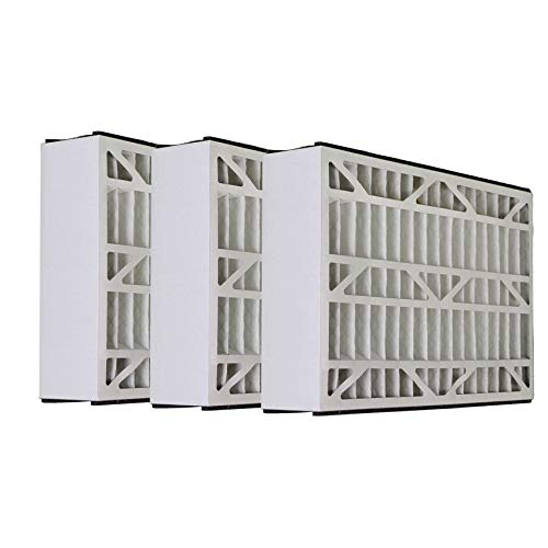 Tier1 Replacement for Lennox 16x25x3 Merv 8 X0581 Air Filter 3 Pack