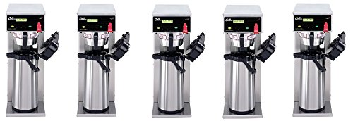 Wilbur Curtis G3 Airpot Brewer 2.2L To 2.5 L Single/Standard Airpot Coffee Brewer, Dual Voltage - Commercial Airpot Coffee Brewer - D500GT63A000 (Each) (5-(Pack))