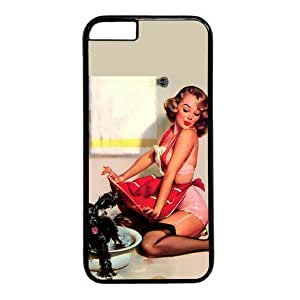 """Lilyshouse Sexy Young Lady 017 Hard Shell with Black Edges Cover Case for Iphone 6(4.7"""") by ruishername"""
