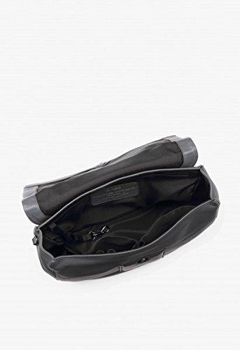 BREE - Bolso cruzados para mujer gris gris 29 cm x 23cm x 9cm (BxHxT) gris