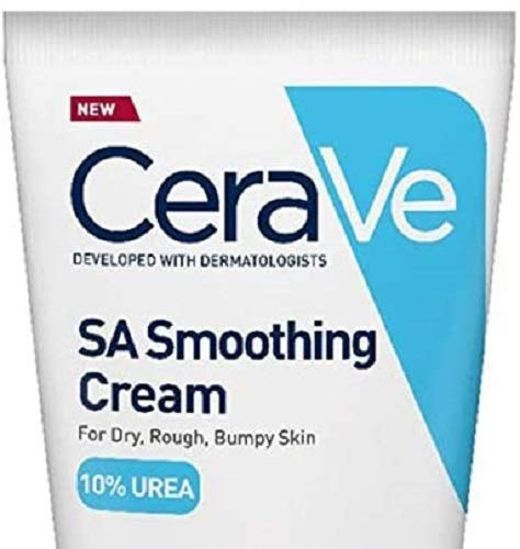 CeraVe SA Smoothing Cream 177ml/6oz | Body Moisturiser for Smoother Skin in Just 3 Days