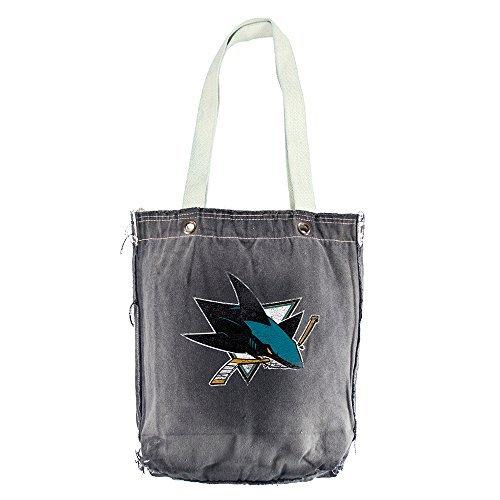 NHL San Jose Sharks Vintage Shopper Bag by