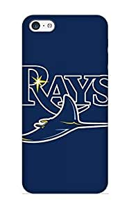 Stylishgojkqt New Arrival HCSBCE-952-UBbmp Premium Iphone 5c Case(baseball Tampa Bay Rays)