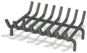 Porte bûches, tiroir à cendre, grille et support pour cheminée