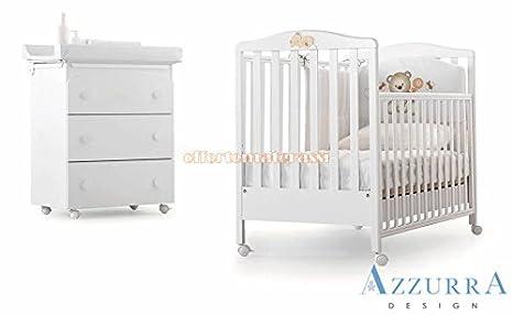 Lettino Azzurra Design Web Bianco bimbi infanzia (Lettino web con ...