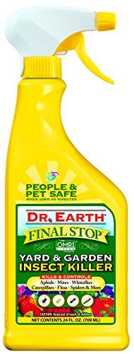 Rtu Bug Oz 24 (Dr. Earth Final Stop Yard & Garden Insect Killer 24 oz RTU)