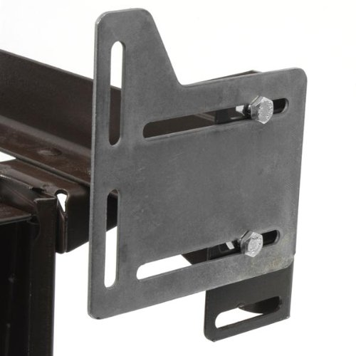 Bed Claw Queen Bed Modification Plate, Headboard Attachment Bracket, Set of - Headboard Bed Hardware