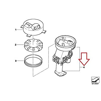 Amazon Com Bmw Genuine Fuel Pumpfuel Filter Fuel Pump Assy For