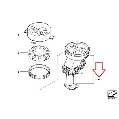 Amazon Com Bmw Genuine Fuel Pumpfuel Filter Fuel Pump Assy For