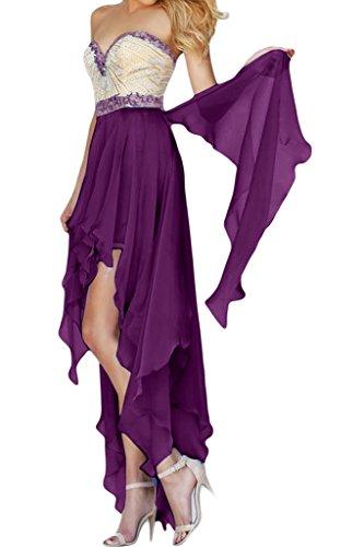 Missdressy - Vestido - trapecio - para mujer morado 54