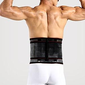 Zhhlinyuan Mens Women Waist Hot Trimmer Belt Belly Bands Adjustable Fever corset