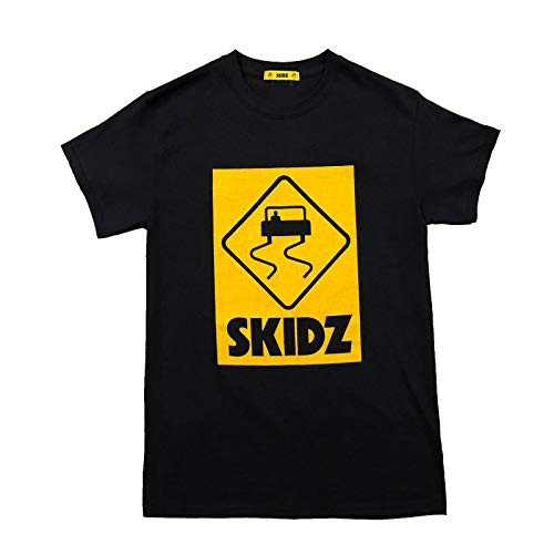 SKIDZ Black Logo T-Shirt