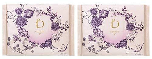 Shiseido Benefique Cotton W 204 Sheets (set of 2)