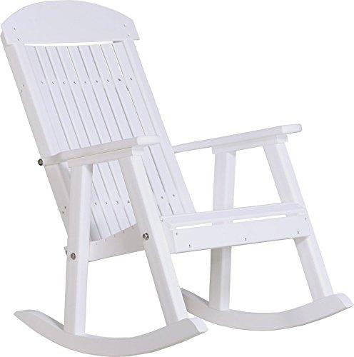 Outdoor Poly PORCH ROCKER-White Color