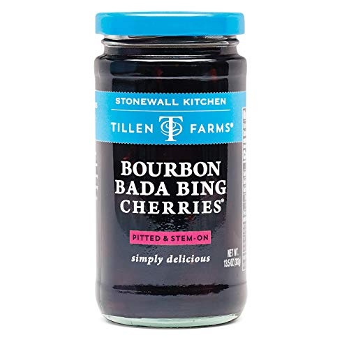 Tillen Farms Bourbon Bada Bing Cherries, 13.5 oz