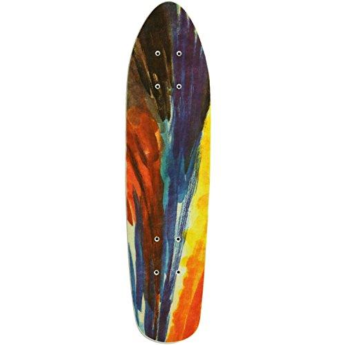 MPI NOS Fiberglass Skateboard Deck, Tie Dye, 6.5