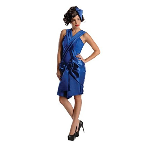 Mob Wife Costume Accessories - Secret Wishes Boardwalk Mob Wife Period Dress Costume, Blue, Large