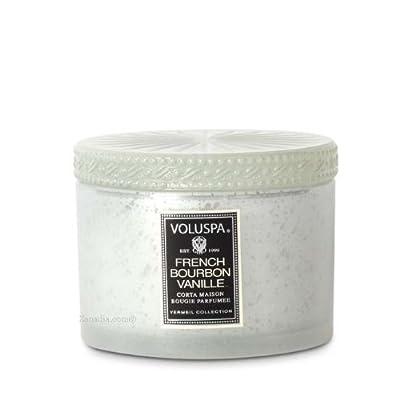 Voluspa French Bourbon Vanille Corta Maison with Lid 11 oz