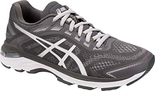 ASICS GT-2000 7 Women's Running Shoe, Dark Grey/White, 7 B US