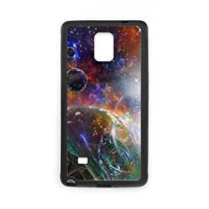 YCHZH Phone case Of Colorful Space Nebula Cover Case For samsung galaxy note 4