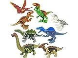 Yiyane Dinosaur Building Blocks, 3D Jigsaw Puzzles Educational Learning Toys for Children(8 Pcs)