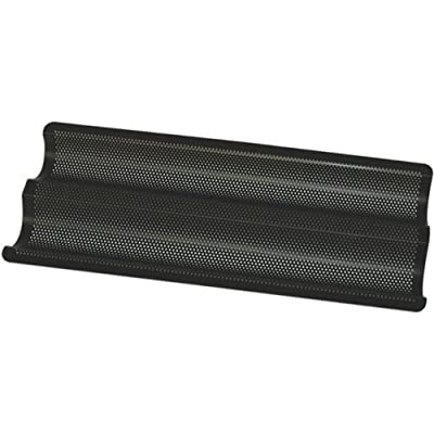 Perforated Aluminum French Baguette Dual Loaf Bread Pan