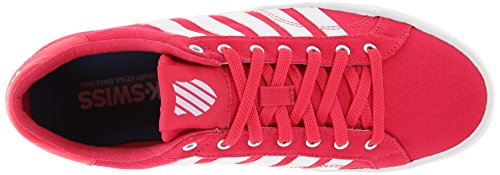 K-Swiss Belmont So T M, Baskets basses femme, Rose - Pink (Pink/White), 39