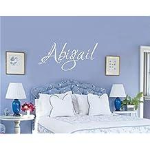 Enchantingly Elegant Custom Personalized Name Vinyl Decal Wall Sticker Art Words Letters Lettering Teen Girl Room Decor 38x15