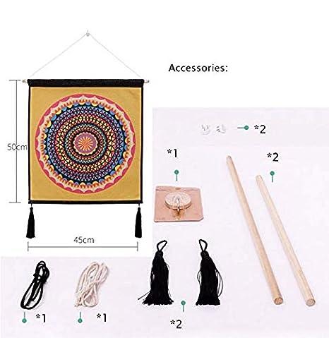 Djkaa Gato Colgando Pintura Fondo del Hogar Medidor De Tela Caja Cubierta Paño Tela De Lino Arte Pintura, H: Amazon.es: Hogar